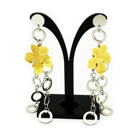 Picture of Dangle Earrings Stainless Stee Gold Plating