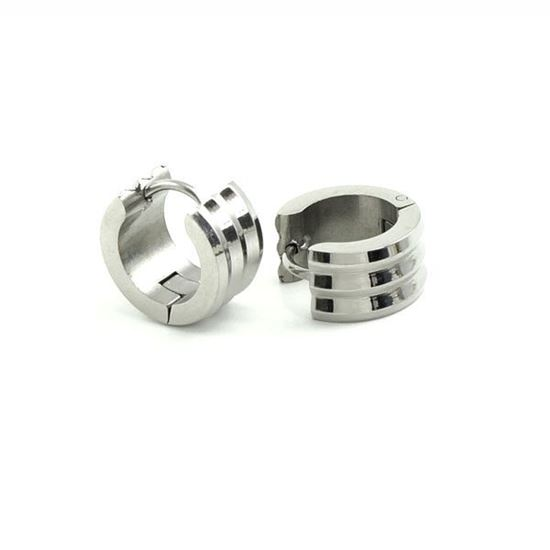 Picture of Huggie Earrings Stainless Steel Polished