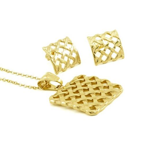 Picture of Fiesta Set Jewelry Stainless Steel Gold Plating