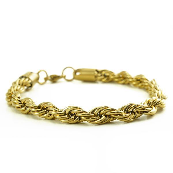 Picture of MIS Rope Chain Bracelet Stainless Steel