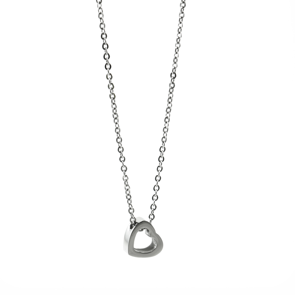 Picture of ANFLO Heart Necklace Stainless Steel