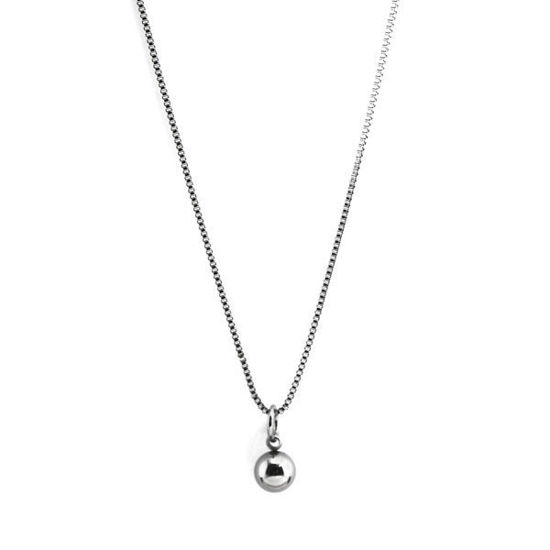 Picture of Spherical Pendant Stainless Steel Necklace