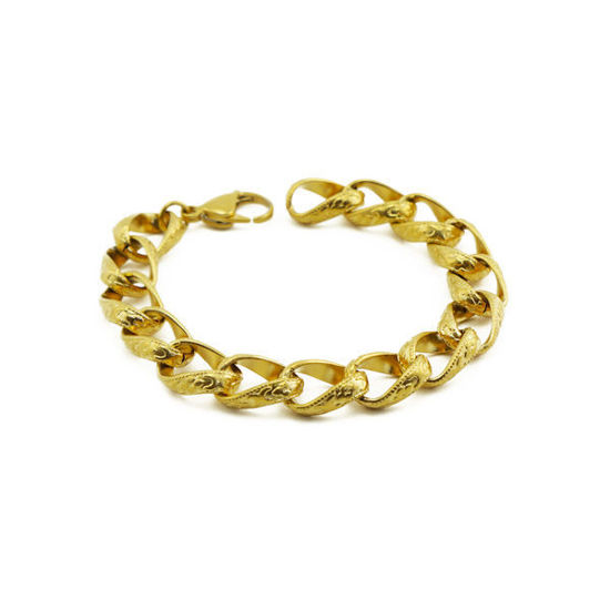 Picture of MIS Gold Bracelet Stainless Steel