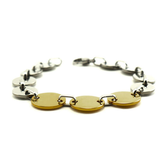 Picture of MIS Coin Bracelet Stainless Steel