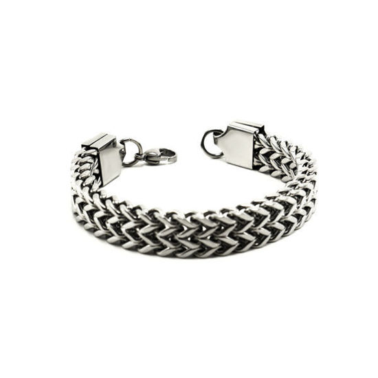 Picture of Men/ Women Link  Bracelet Stainless Steel 316L