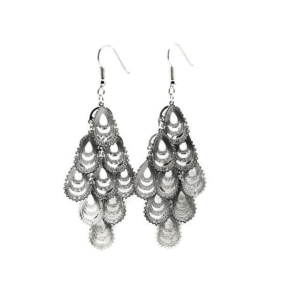 Picture of Women Dangling Earrings Stainless Steel