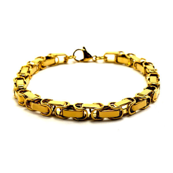 Picture of MIS Interlaced Links Bracelet Stainless Steel