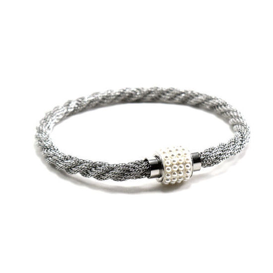 Picture of Woman Bracelet Stainless Steel Polished