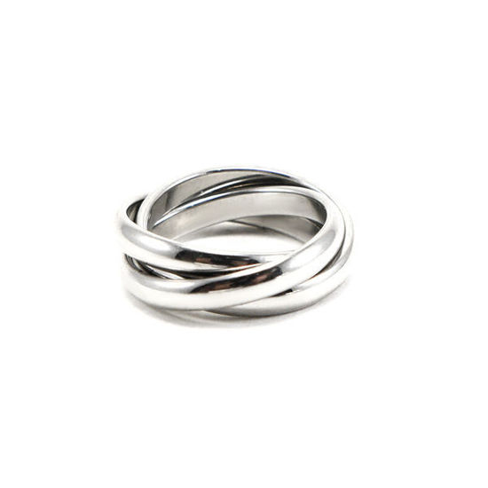 Picture of Infinity Ring  Stainless Steel High Polished
