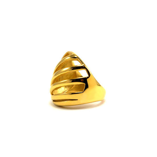 Picture of Gold Half Globe Stainless Steel