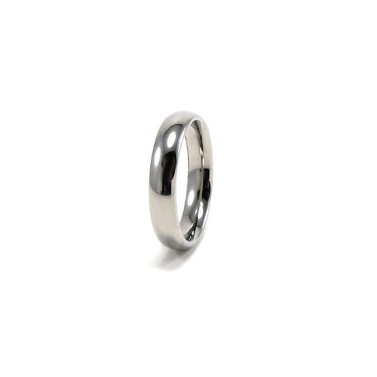 Picture of Wedding Band Stainless Steel Unisex Silver