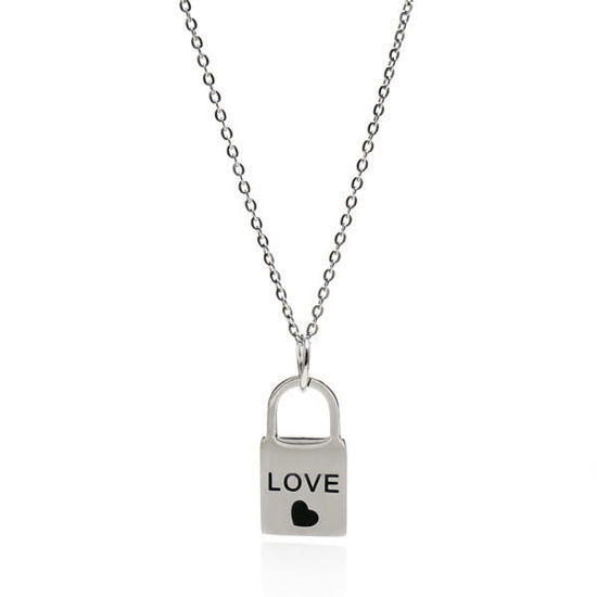 Picture of ANFLO Love Lock Stainless Steel  316L