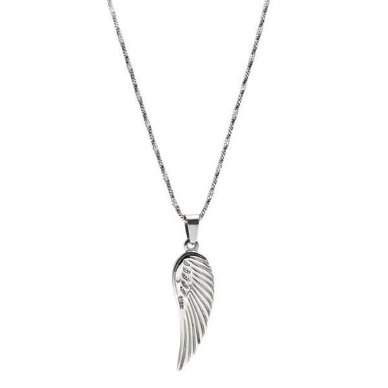 Picture of Angel  Wing Necklace Stainless Steel