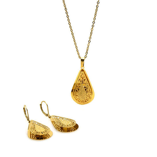 Picture of Fiesta Set Necklace Stainless Steel Gold Plating