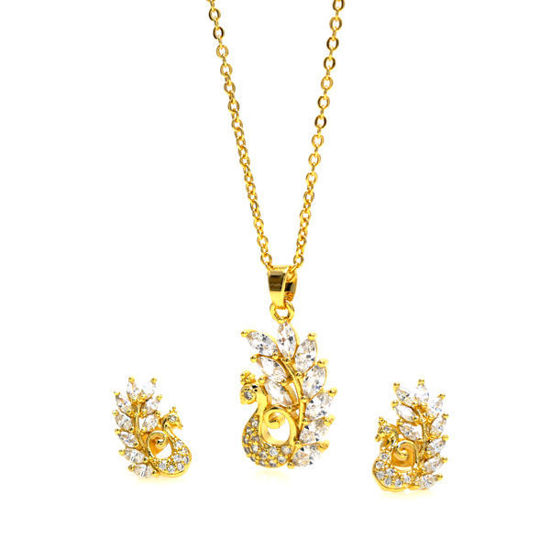 Picture of Crystal Set Earrings Necklace