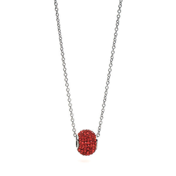 Picture of Pendant Crystal Necklace Stainless Steal