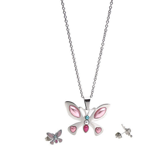 Picture of Jewelry Set Stainless Steel High Polished