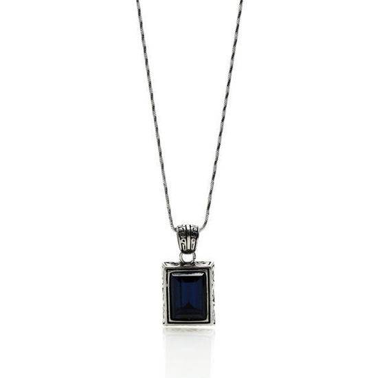 Picture of Crystal Necklace Pendant Stainless Steel