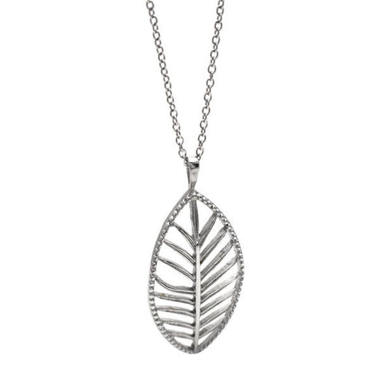 Picture of Leaf Necklace Stainless Steel