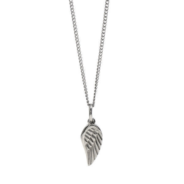 Picture of Angel Wing Pendant Necklace Stainless Steel