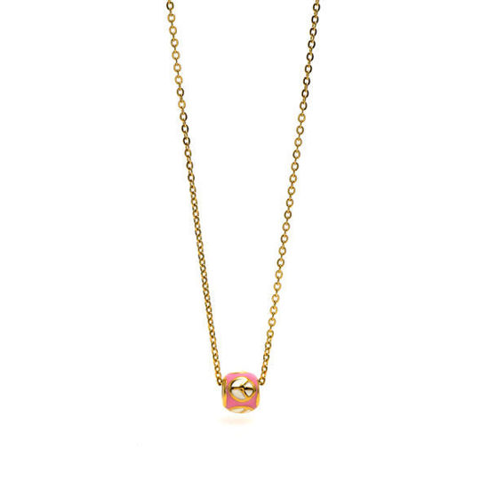 Picture of Pendant Necklace Stainless Steel Gold Plating