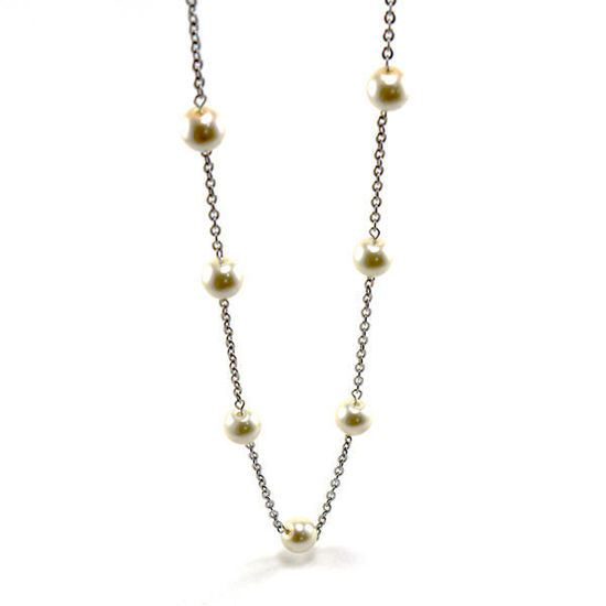 Picture of Pearl Necklace Stainless Steel