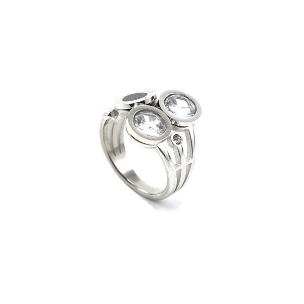 Picture of Crystal Ring Stainless Steel