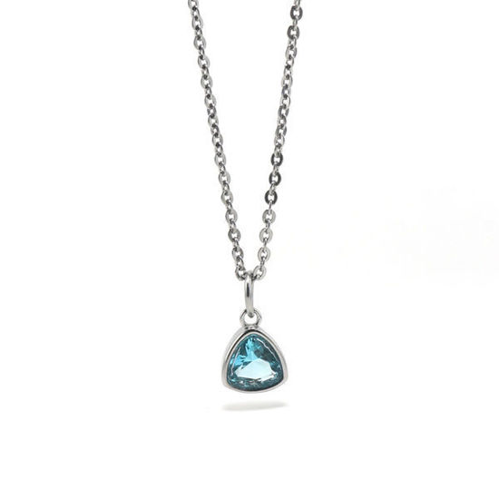 Picture of Stone Pendant Stainless Steel Necklace