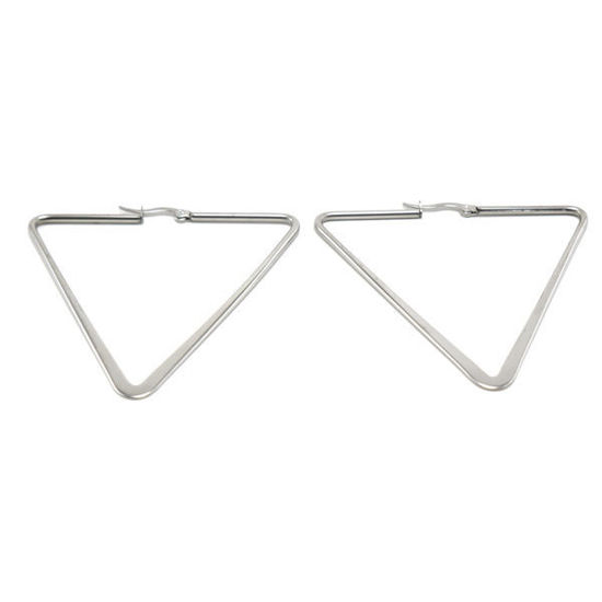 Picture of Triangular Earrings Stainless Steel